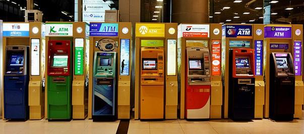 Bankautomaten in Thailand