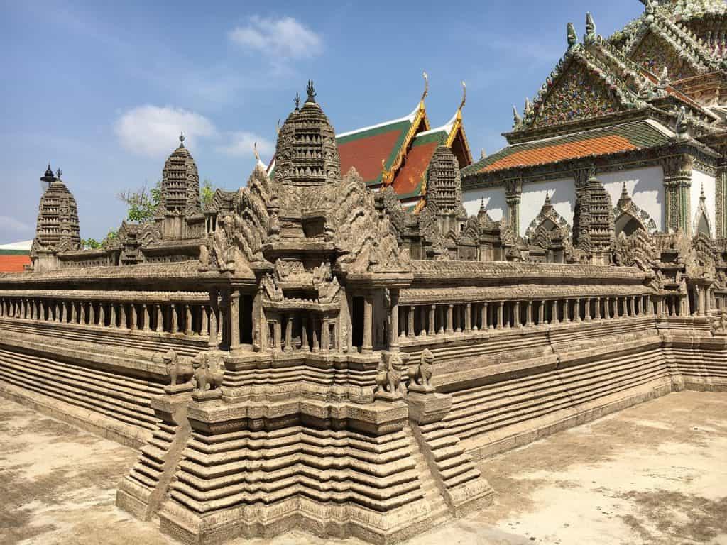 Königspalast in Bangkok - Angkor Wat Model