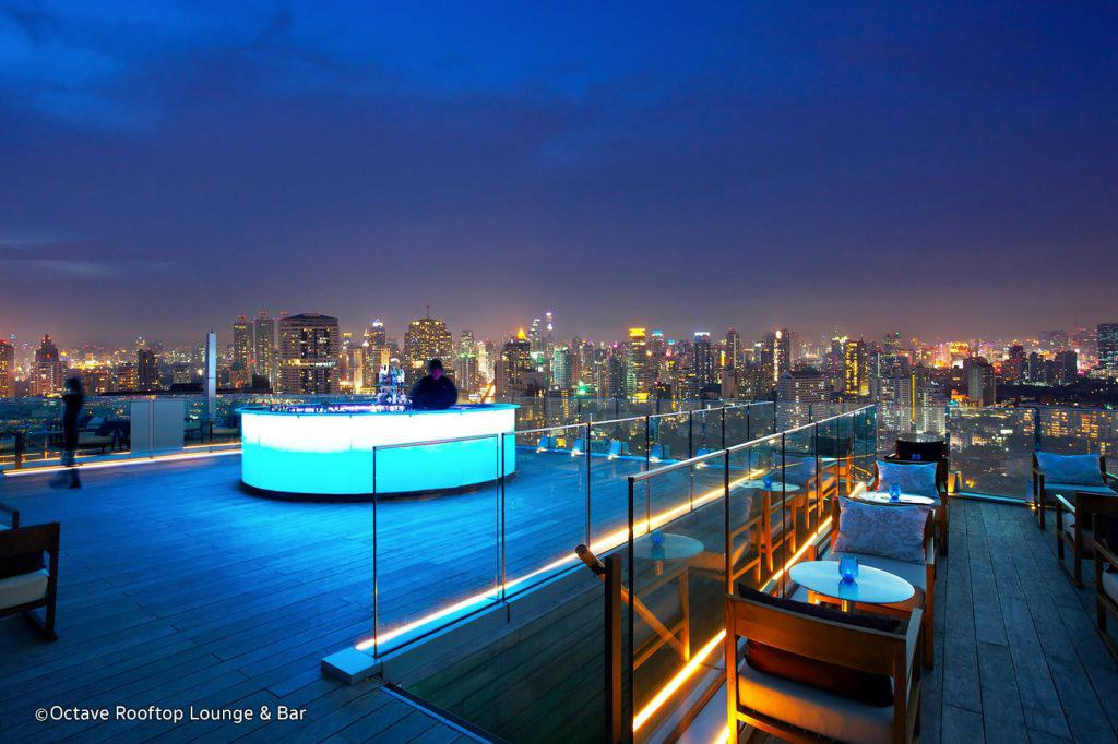 Octave Rooftop Bar in Bangkok