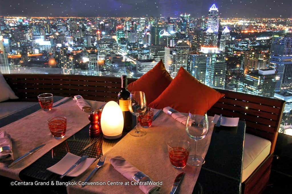 Rooftop Bars in Bangkok - Red Sky Bar in Bangkok