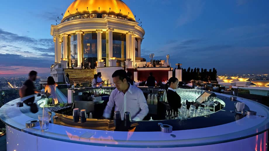 Rooftop Bars in Bangkok - Sky Bar Lebua Bangkok