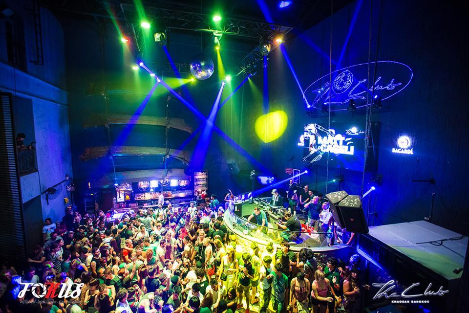 Nachtleben an der Khaosan Road - The Club