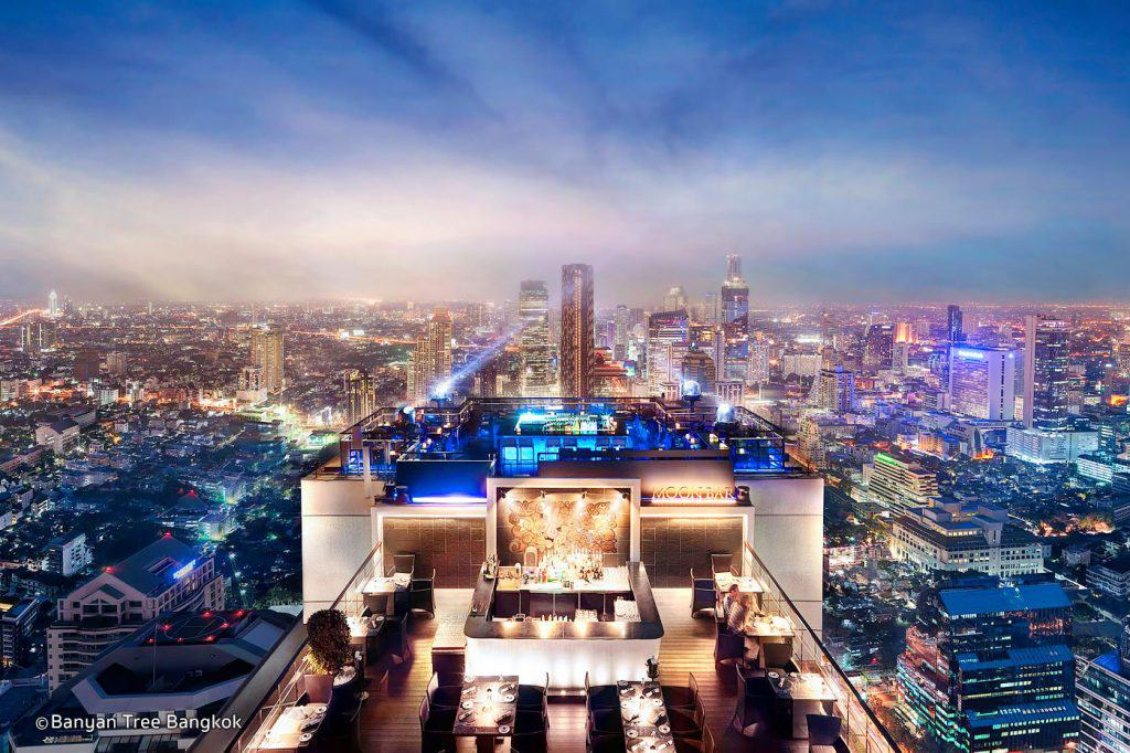 Rooftop Bars in Bangkok - Vertigo and Moon Bar in Bangkok